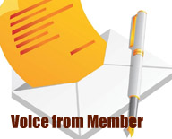 Voice from member
