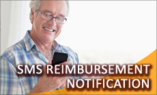 SMS Notfication Service of Claim Reimbursement