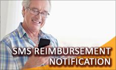 SMS Notfication Service of Claim Reimbursement